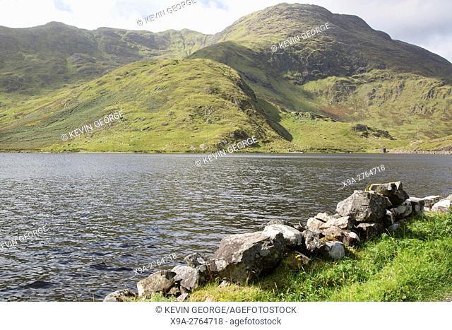 Lough Fee Lake, Connemara; Galway; Ireland