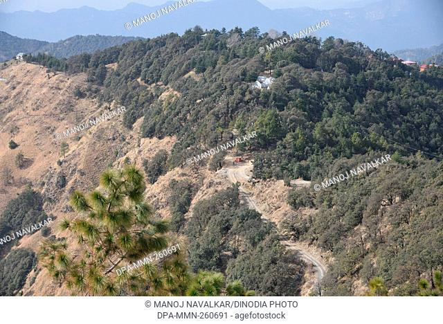 Landscape at Kasauli, Himachal Pradesh, India, Asia