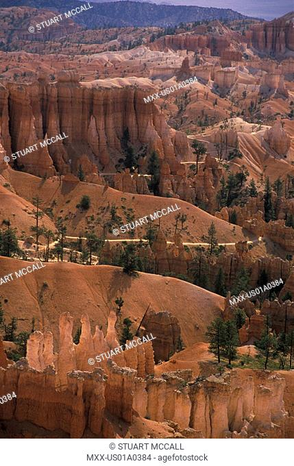 Bryce Canyon Sandstone formations, Pansuitch, Utah