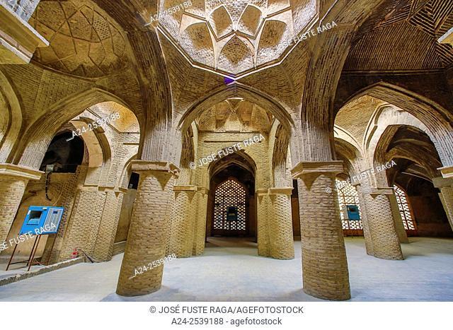 Iran, Esfahan City, Masjed-e Jame (Friday Mosque) UNESCO, (w. h. ), Prayer Hall,