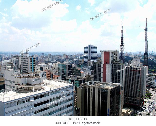 Skyline, São Paulo, Brazil