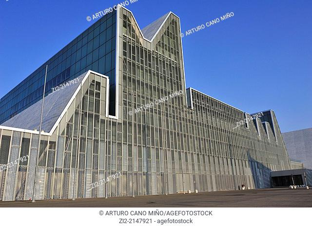Palace of Conferences, formerly EXPO 2008. Zaragoza, Spain