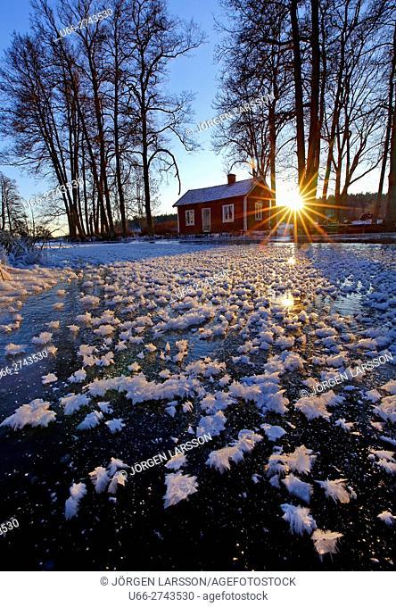 Winter in Trosa, Sodermanland, Sweden