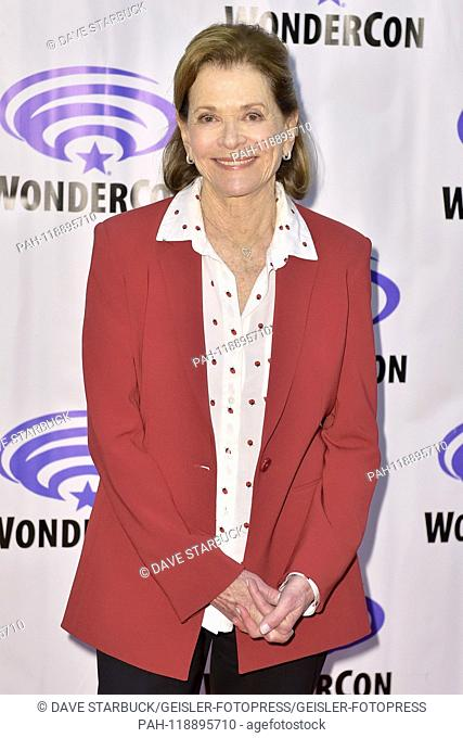 Jessica Walter at Photocall for the FX animation series 'Archer' at WonderCon 2019 at the Anaheim Convention Center. Anaheim, 31.03