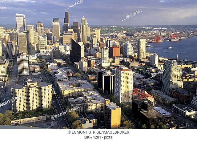 Skyline of Seattle, Washington State, USA