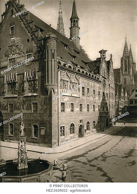 'Ulm. Town - Hall - Cathedral Tower', 1931. Artist: Kurt Hielscher