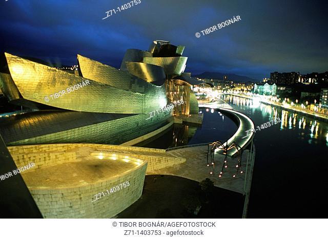 Spain, Vizcaya, Bilbao, Guggenheim Museum
