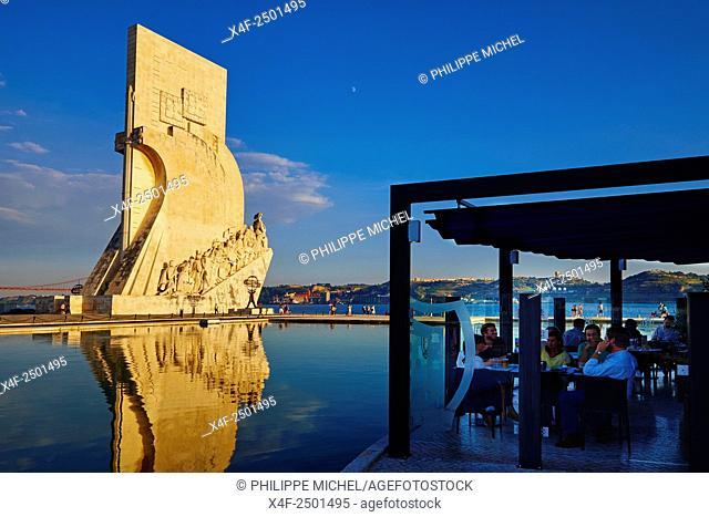 Portugal, Lisbon, Belem, Padrao dos Descobrimentos (Monument to the Discoveries