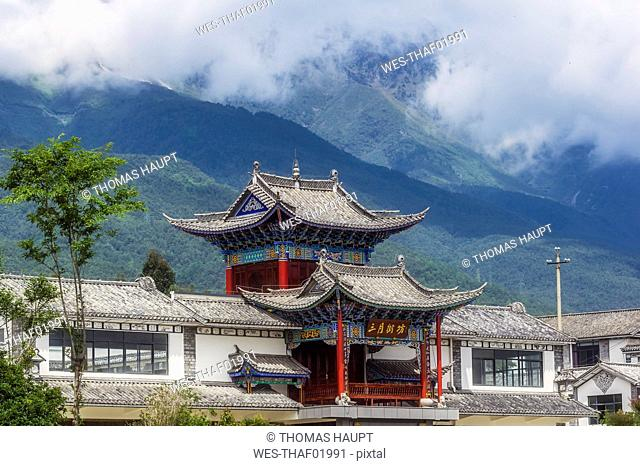China, Yunnan, Dali, Pagoda