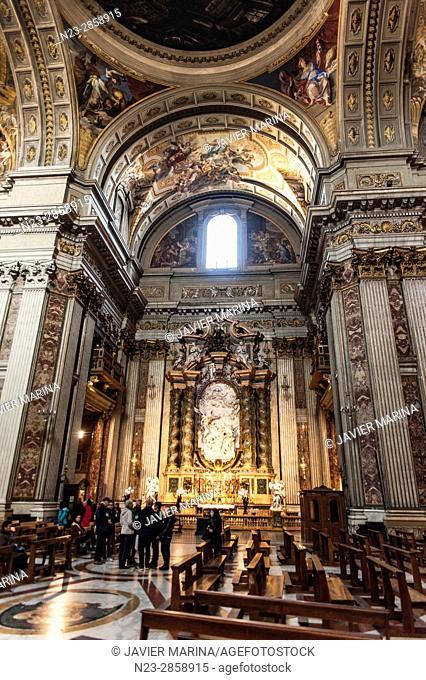 Sant'Ignazio di Loyola church, Rome, Italy