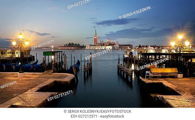 View on San Giorgio Maggiore in Venice,Italy