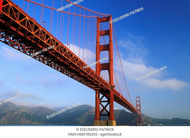 United States, California, San Francisco, Golden Gate Bridge