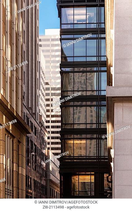 Office buildings in the financial district,San Francisco,California