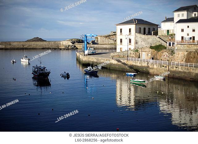 Harbour in Tapia de Casariego, Asturias, Spain