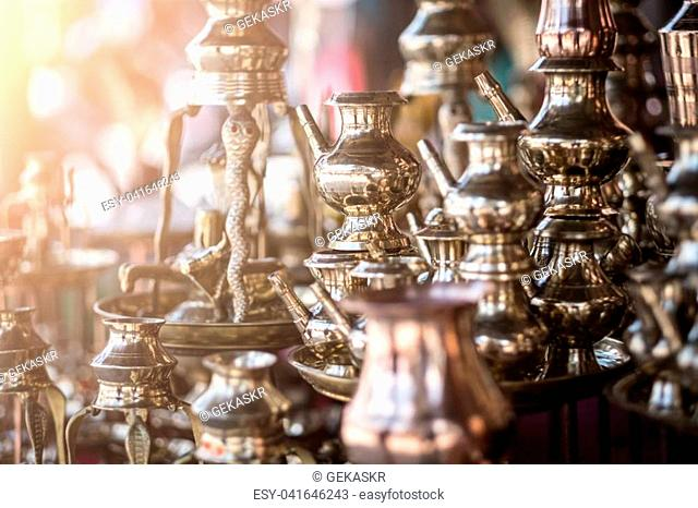Traditional Nepalese Handicraft Shop Stock Photos And Images Age