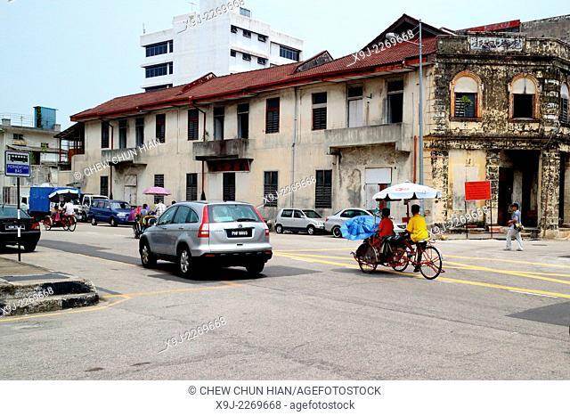 Street scene, Georgetown, Penang, Malaysia