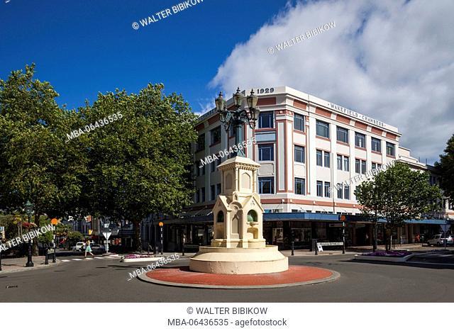 New Zealand, North Island, Wanganui, art-deco architecture, Wakefield Chambers Building