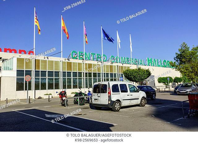 Centro comercial Mallorca, Marratxi, Majorca, Balearic Islands, Spain