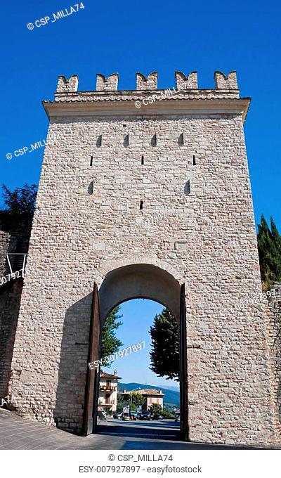 Porta Nuova. Assisi. Umbria