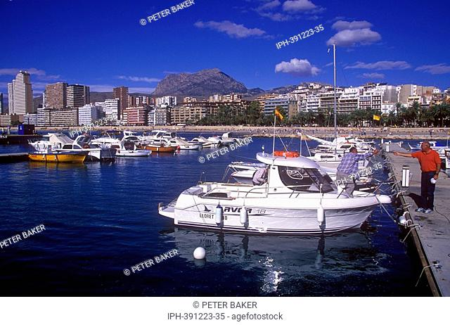 Benidorm - The boat harbour