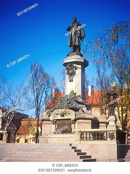 Mickiewicz statue