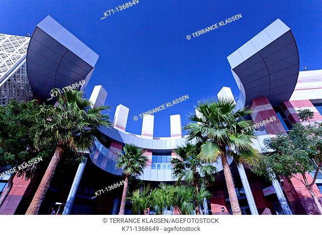 Architecture at the Festival City Mall in Dubai, UAE, Persian Gulf