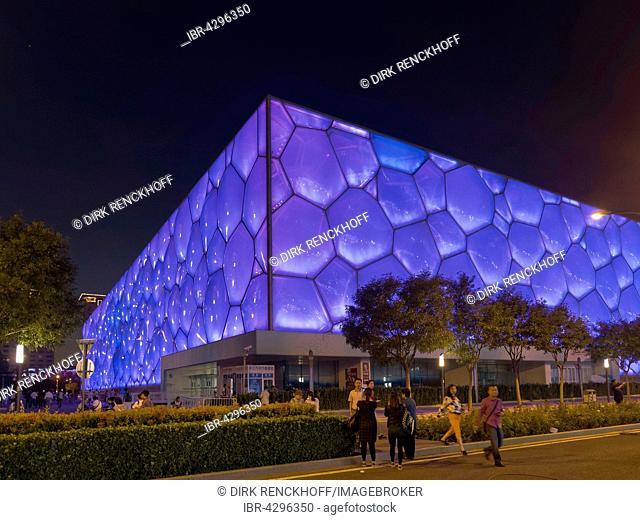 Beijing National Aquatics Center, Water Cube, Olympic Green, Beijing, China