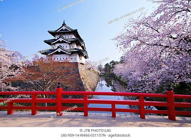 Hirosaki Park and Hirosaki Castle