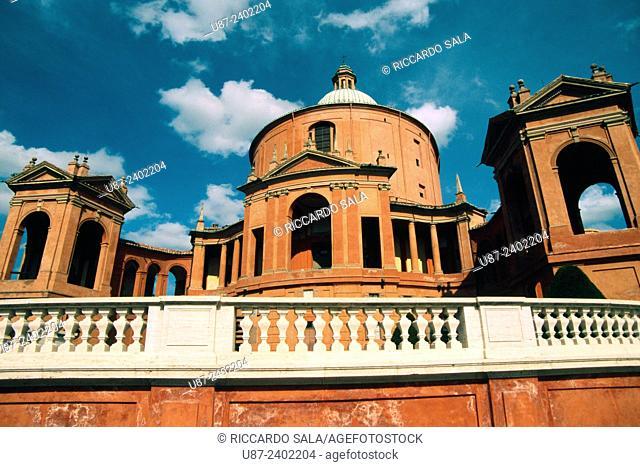 Italy, Emilia Romagna, Bologna, Santuario della Madonna di San Luca, Sanctuary