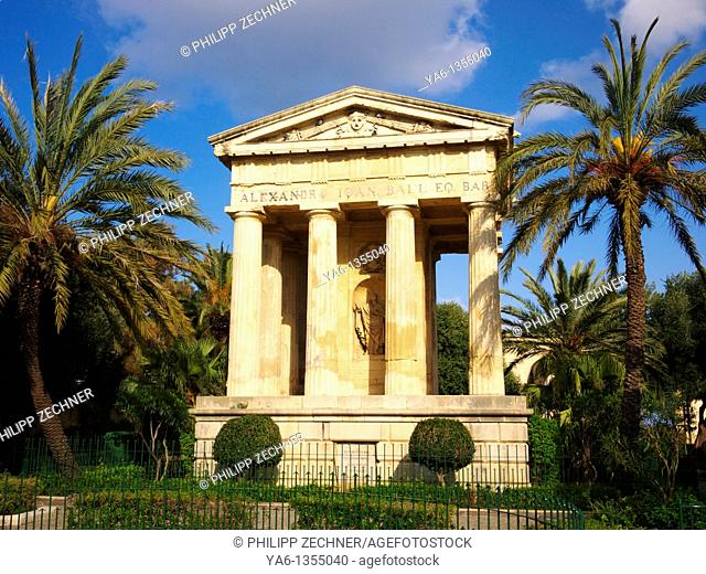 Lower Barakka Gardens, Valletta Malta