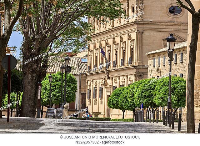 Palacio de las Cadenas, Town Hall, Vazquez de Molina Square, Úbeda. UNESCO World Heritage Site, Jaén province. Spain
