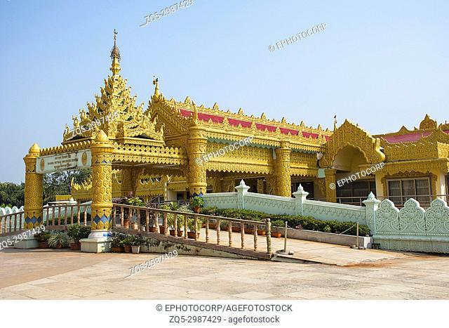 The Global Vipassana Pagoda. Meditation Hall near Gorai, North-west of Mumbai, India
