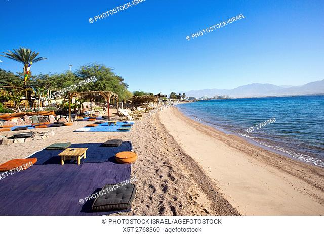 Summer seaside Holiday concept on the Red Sea