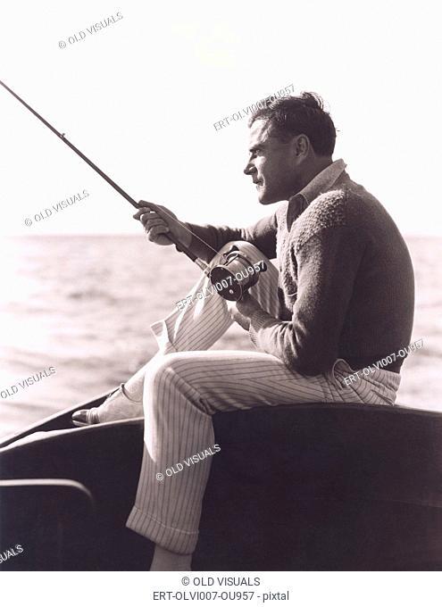 Out fishing (OLVI007-OU957-F)