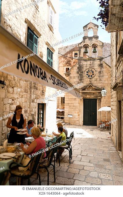 Prijeko street, Dubrovnik, Dubrovnik-Neretva county, Croatia, Europe