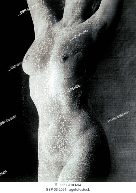 Photo illustrating parts of the human body