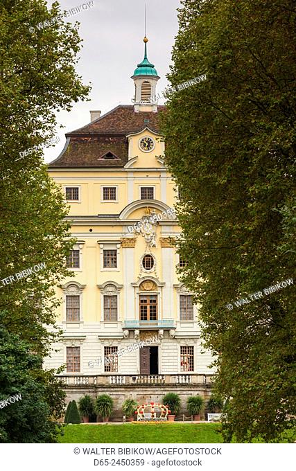 Germany, Baden-Wurttemburg, Ludwigsburg, Residenzschloss Palace, known as the Swabian Versailles