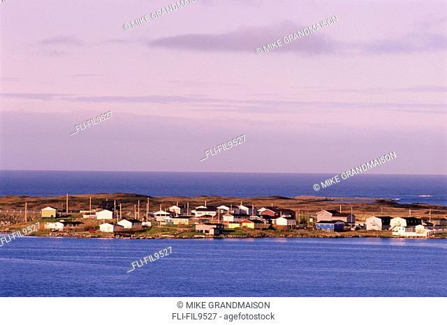 Village Houses, Port Aux Basques, Newfoundland