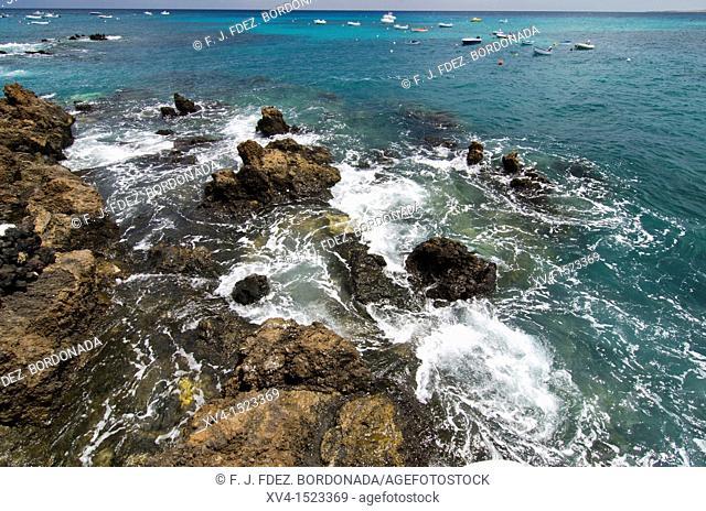 Punta Mujeres fishing village  Lanzarote, Canary Islands, Spain