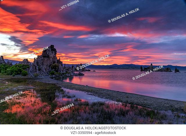 Sometimes the Light Surprises . . A Mono Lake Sunset