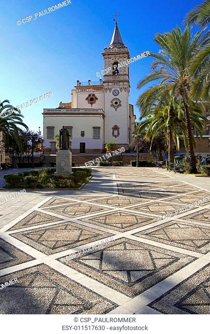 old church of San Pedro