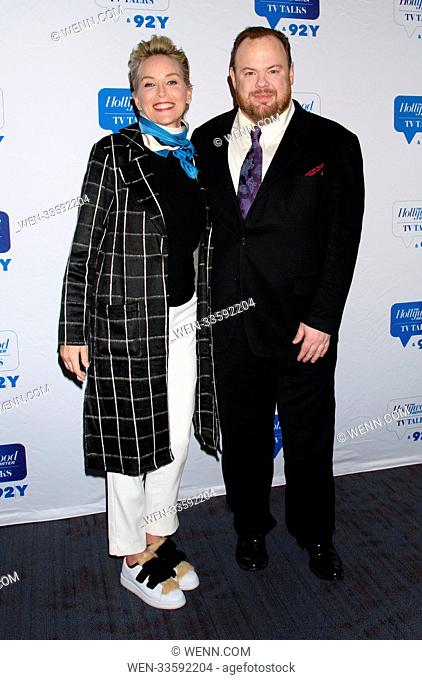 Cast of HBO Mosaic at 92Y Featuring: Sharon Stone, Devin Ratray Where: New York, New York, United States When: 16 Jan 2018 Credit: WENN.com