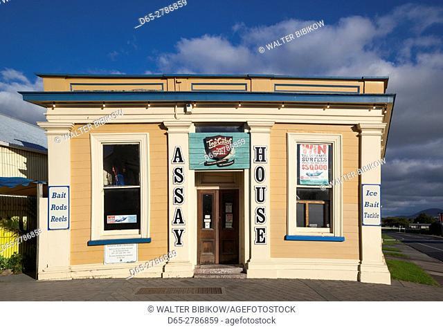 New Zealand, North Island, Coromandel Peninsula, Coromandel Town, Assay House