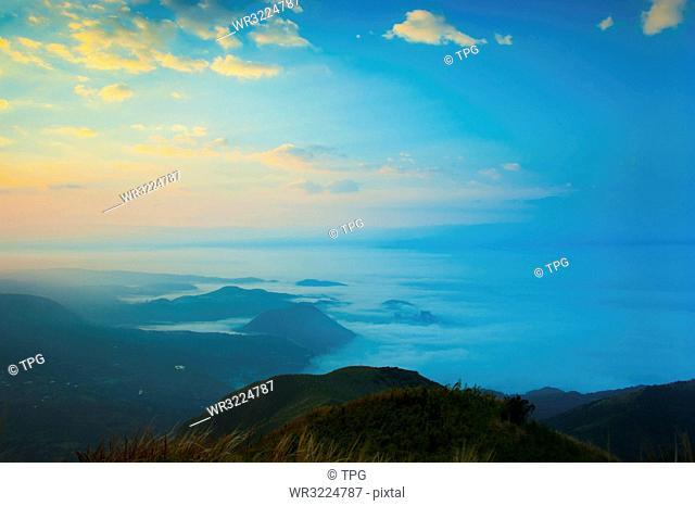 Taiwan;Datun Mountain;Cloud Sea