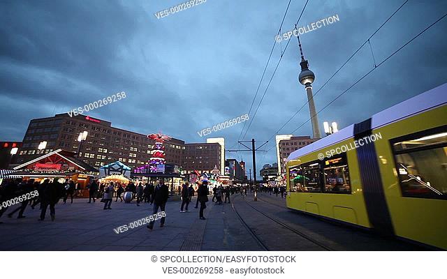 Christmas Market Berlin Alexanderplatz