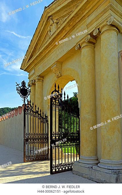 Europe, Italy, Veneto Veneto, Torreglia, Via dei Vescovi, Colli Euganei, Euganeische hill, villa dei Vescovi, input, trees, plants, place of interest, tourism