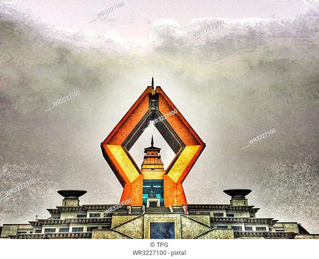 Famen Temple;Baoji;Xi