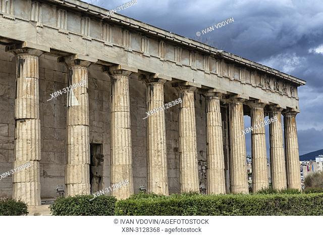 Temple of Hephaestus, Hephaestion, Theseion (415 BC), Ancient Agora, Athens, Greece