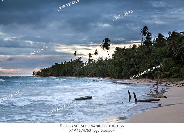 Punta Uva Beach, between Puerto Viejo and Manzanillo, Costa Rica