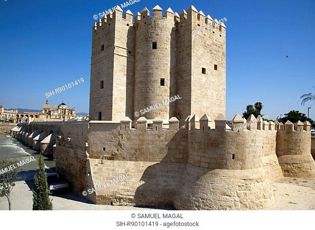 The tower was built during the late 12th century by the Almohads to protect the nearby Roman Bridge on the Guadalquivir. It was restored in 1369 by king Henry...